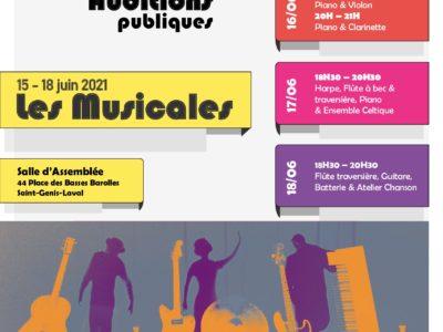 LES MUSICALES JUIN 2021